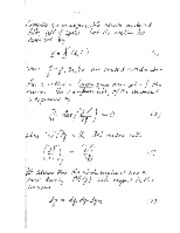 Boundary Method Derivation notes
