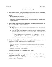 Econ 451 Homework 4 With Answers