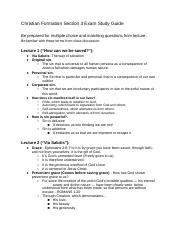 Christian Formation Section 3 Exam Study Guide.docx