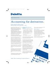 [Deloitte] Accounting For Derivatives.pdf