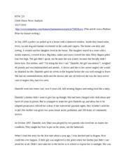 Child abuse essay outline