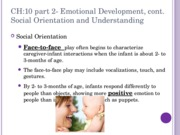 CH 10 part 2 Emotional Development
