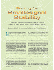 striving for small signal stability