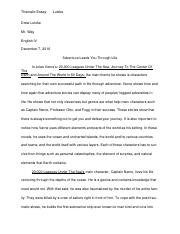 DCE Thematic Essay