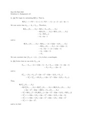 probability Assignment 5 Solutions
