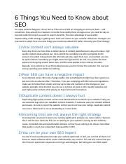 5 Things You Need to Know about SEO.docx