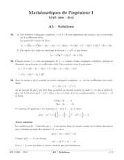 exercices 5 solutions