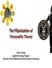 The Filipinization of Personality Theory (own).ppt