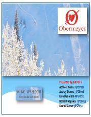 sport obermeyer case analysis essays Sport obermeyer is a high-end fashion skiwear design and merchandising  company  analysis a joint venture was established between klaus obermeyer  and.