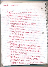 Parts of a theory notes