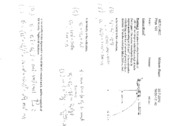 PHY105 - 2009-2010(S) Midterm Solutions