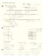 PreCalcA_Review_KEY_semester_1