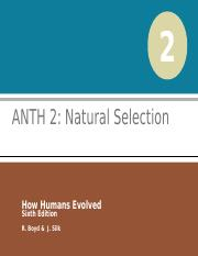 ANTH 2 Natural Selection for TED.ppt