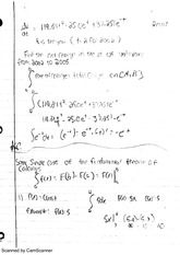 Fundamental Theory Calculus