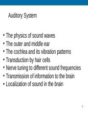 Lecture13_Ear_AuditoryPathways