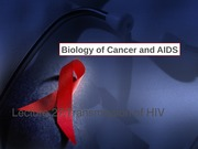 Lecture 27 - Transmission of HIV