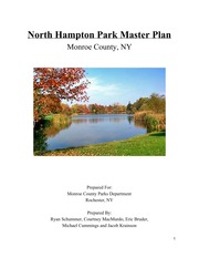Master Plan for Northampton Park