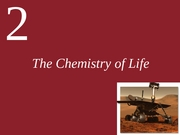 Ch2-The Chemistry of Life