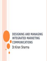 6 Designing and Managing Integrated Marketing Communications