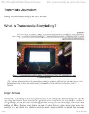 What is Transmedia Storytelling.pdf