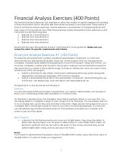 FIN4501 Financial Analysis Exercises - Instructions.pdf