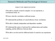 Research Methods-FALL 2009-1