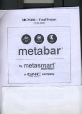 MGM 406 final project metabar