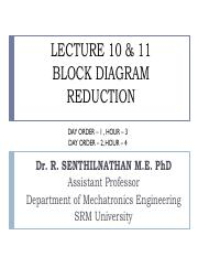 LECTURE 10 & 11 - BLOCK DIAGRAM REDUCTION.pdf