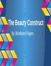 The Beauty Construct