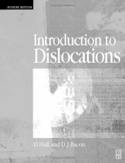 Hull and Bacon, Introduction to Dislocations, 4th Ed. (Elsevier, 2001)(ISBN 0750646810).pdf