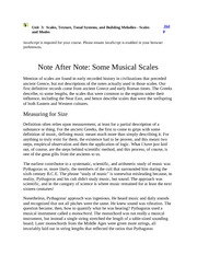 Intro to Music Notes