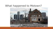 What happened to Motown