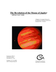 Astro 11 Laboratory Exercise - Jupiter