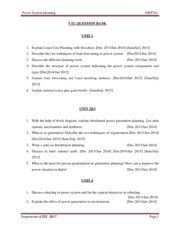 EEE-VII-POWER SYSTEM PLANNING [10EE761]-QUESTION PAPER