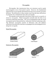 waveguides notes