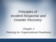 Planning for Organizational Readiness Ch 2