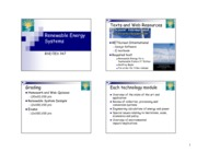 12 RES Lecture 1 Intro  Renewable Energy PDF