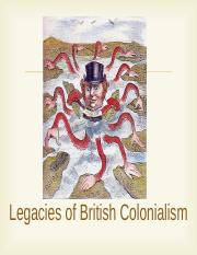 Legacies of British Colonialism 2014(1).ppt