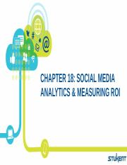 Topic 9 Social Media Analytics and Measuring ROI.pptx