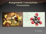 Carbohydrate presenation