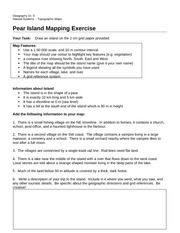 Pear Island Mapping Exercise
