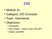 CS2_21_InheritanceObjectSuperThis