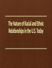 soc 262 The Nature of Racial and Ethnic Relationships.pptx