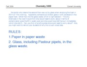 Chem 3000 -- Fall 2009 -- John Marohn -- Lecture 13 -- Safety and Error bars post