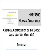 11_Chemical Composition- Proteins