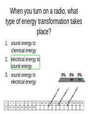 Changing Forms of Energy TP review