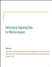 L13 Retrieving & Organizing Data for Effective Analysis.pptx