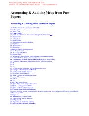 Accounting & Auditing PPSC Data.pdf