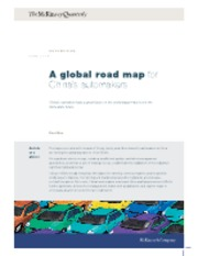 Global trends - China's auto industry