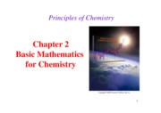 Chapter 2- Basic Mathematics for Chemistry